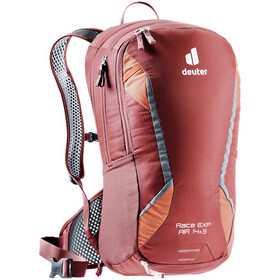 deuter Race EXP Air Backpack 14+3l, redwood/paprika